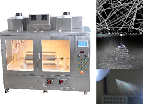 エレクトロスピニング式ナノファイバー製造装置 TLシリーズ