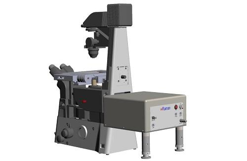 倒立顕微鏡用レーザーラマン分光器 uRaman-i